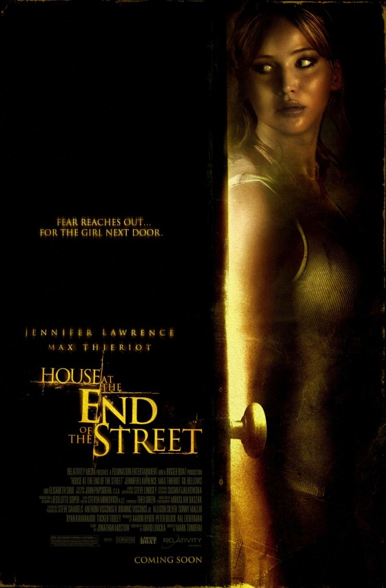 Jennifer Lawrence - House at the End of the Street - Poster
