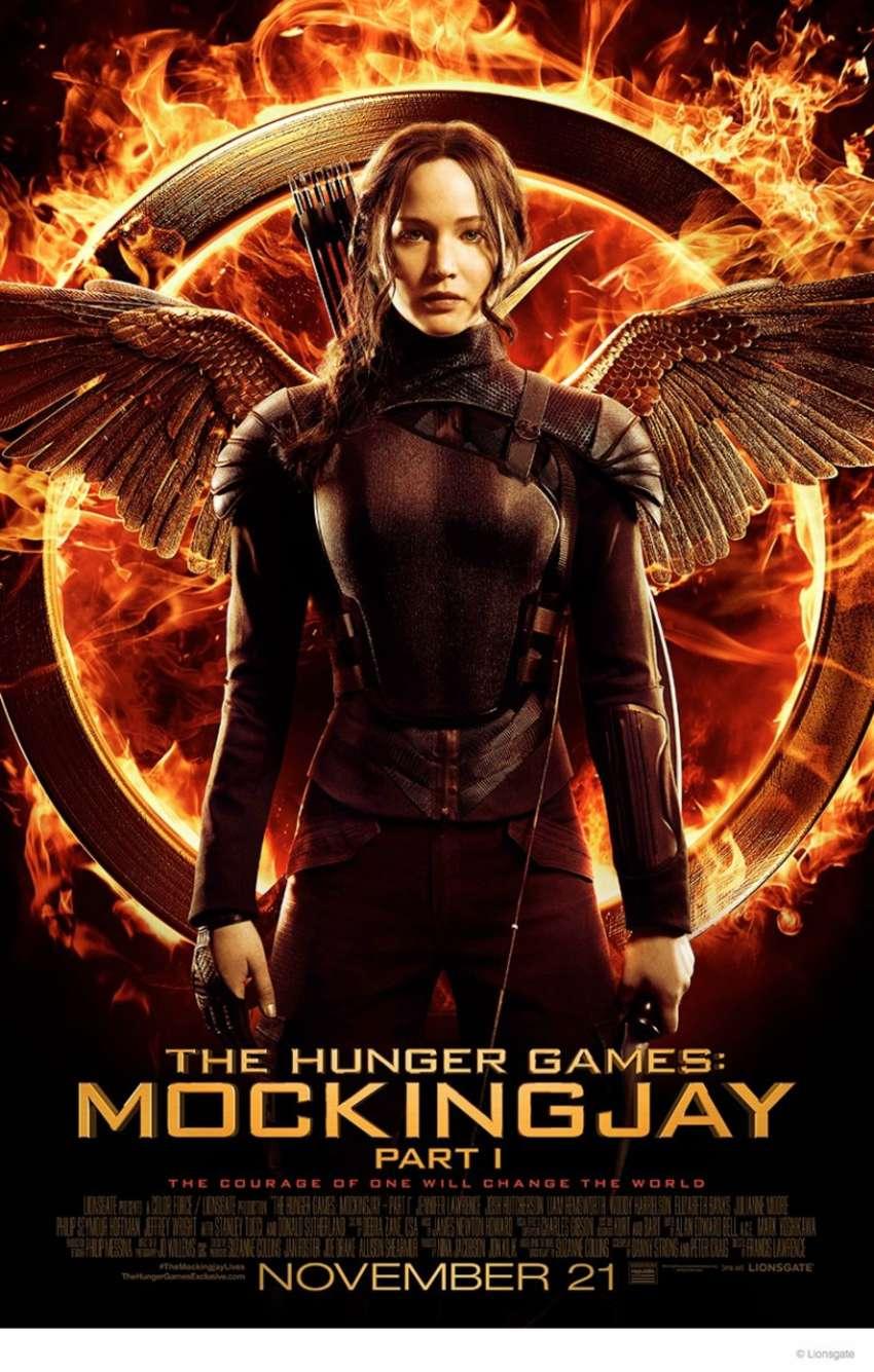 "Jennifer Lawrence - ""Hunger Games: Mockingjay"" Poster"