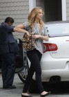 Jennifer Lawrence Goes To a Meeting in Tight Pants-01