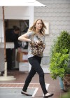 Jennifer Lawrence Goes To a Meeting in Tight Pants-03
