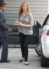 Jennifer Lawrence Goes To a Meeting in Tight Pants-05