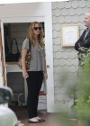 Jennifer Lawrence Goes To a Meeting in Tight Pants-07
