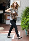 Jennifer Lawrence Goes To a Meeting in Tight Pants-12