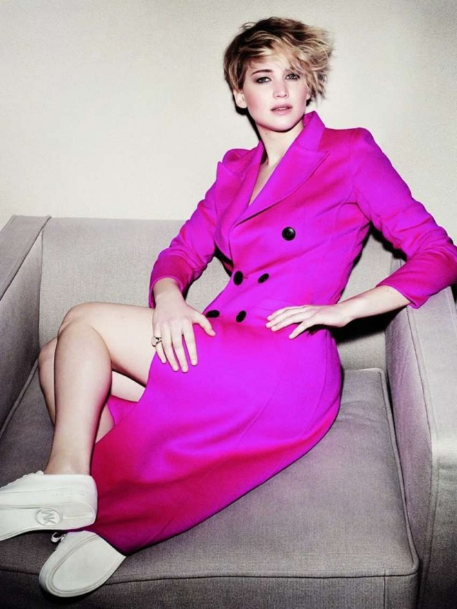 Jennifer Lawrence - Marie Claire Thailand Magazine (October 2014)