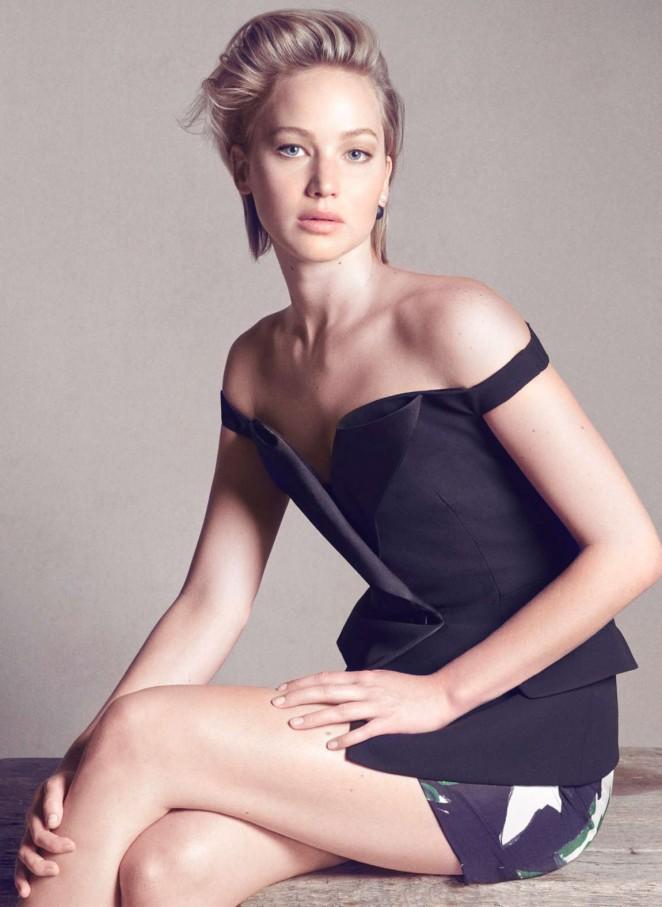 Jennifer Lawrence - New Dior Photoshoot 2014 adds