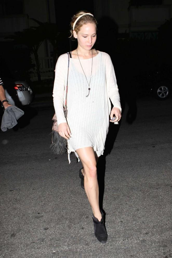 Jennifer Lawrence Night out in LA