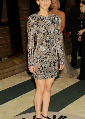 Jennifer Lawrence: Oscar 2014 - Vanity Fair Party -02
