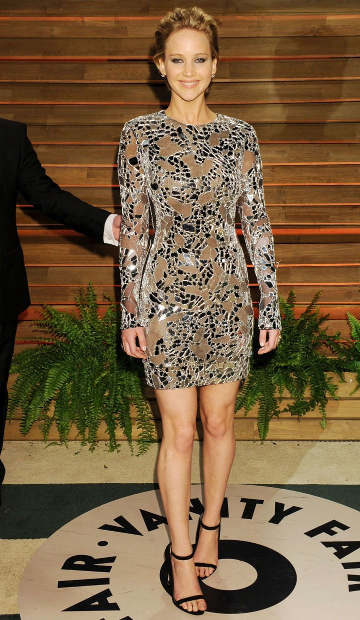 Jennifer Lawrence: Oscar 2014 - Vanity Fair Party -05