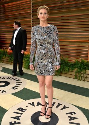 Jennifer Lawrence: Oscar 2014 - Vanity Fair Party -15