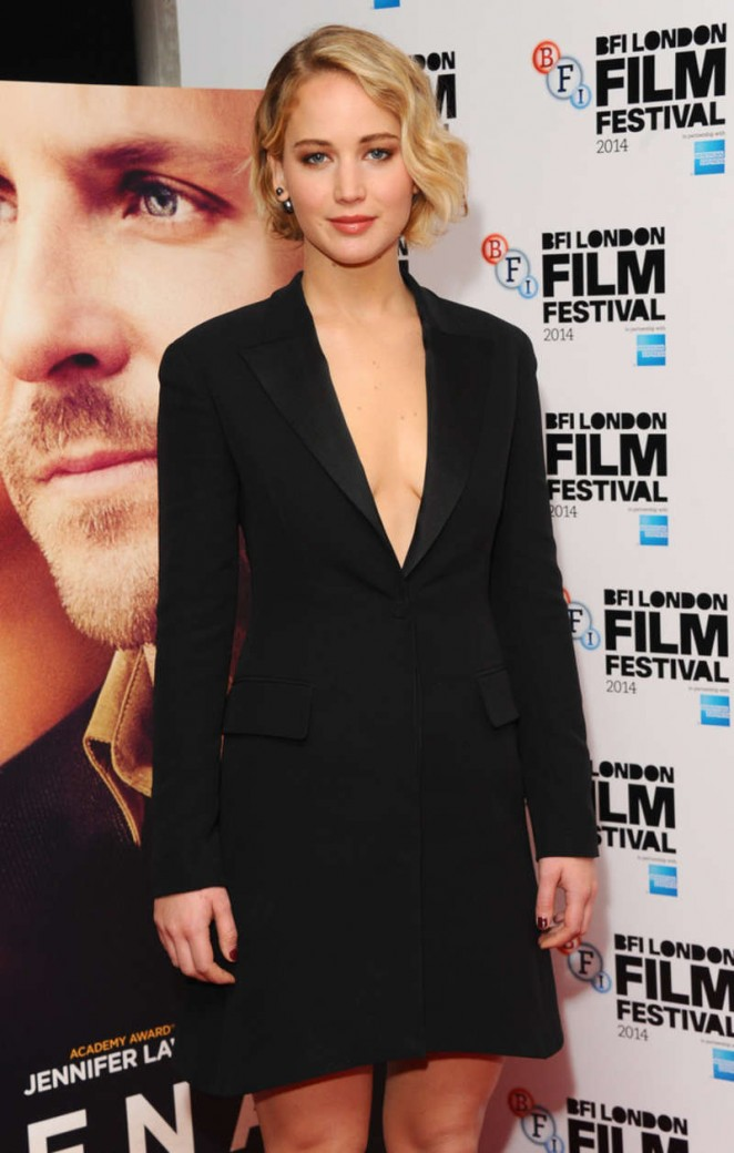 "Jennifer Lawrence - ""Serena"" Premiere in London"
