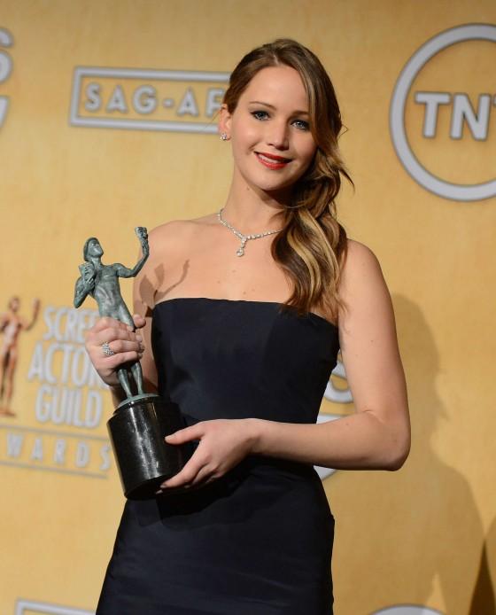 Jennifer Lawrence – SAG Awards 2013 in Los Angeles