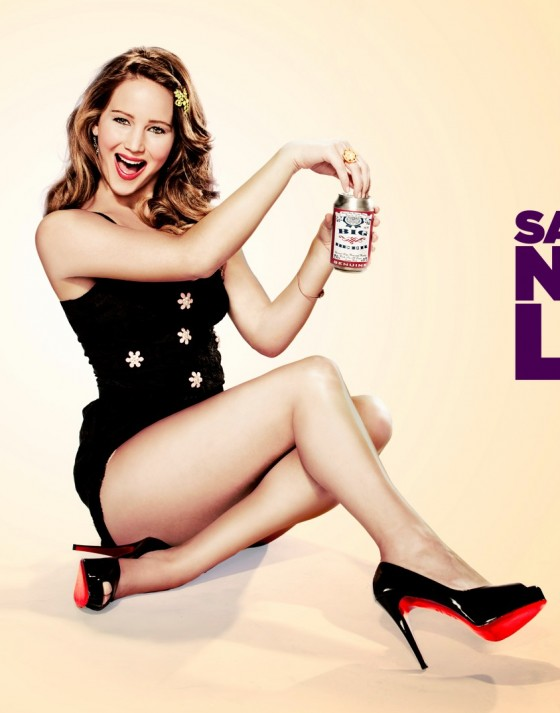 Jennifer Lawrence SNL promo hot photos