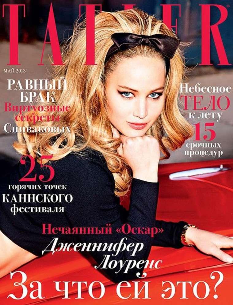 May 2013 Fashion Magazine Covers: Tatler Magazine 2013 -01