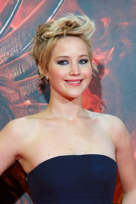 """Jennifer Lawrence – """"The Hunger Games: Catching Fire"""" Premiere in Madrid"""