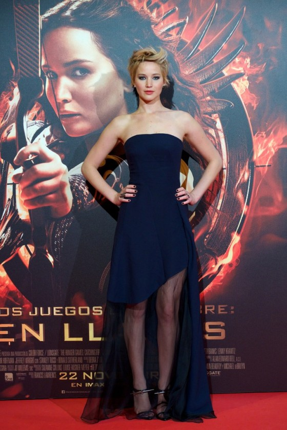 Jennifer Lawrence - The Hunger Games: Catching Fire ...