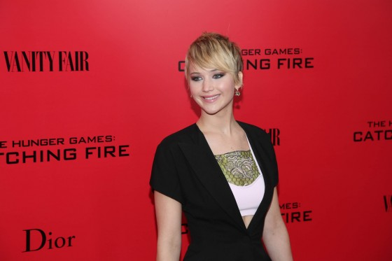 Jennifer Lawrence – The Hunger Games: Catching Fire Screening -17