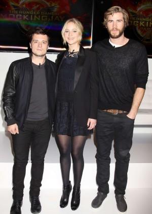Jennifer Lawrence - The Hunger Games: Mockingjay - Part 1 NY Press Conference -01