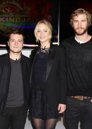 Jennifer Lawrence - The Hunger Games: Mockingjay - Part 1 NY Press Conference -02