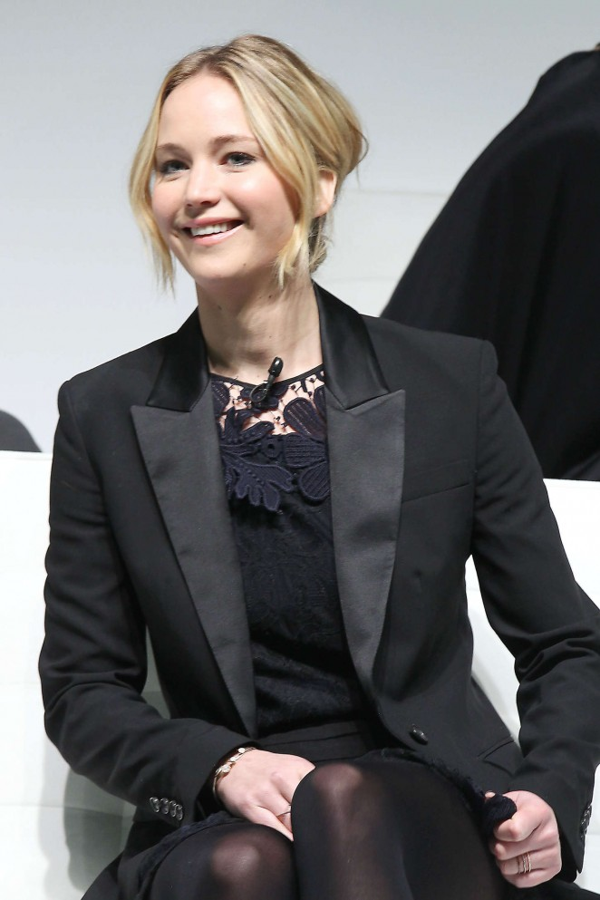 Jennifer Lawrence - 'The Hunger Games: Mockingjay - Part 1' Press Conference in NY