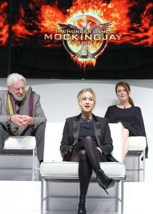 Jennifer Lawrence - The Hunger Games: Mockingjay - Part 1 NY Press Conference -04