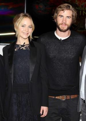 Jennifer Lawrence - The Hunger Games: Mockingjay - Part 1 NY Press Conference -05