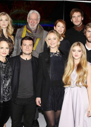 Jennifer Lawrence - The Hunger Games: Mockingjay - Part 1 NY Press Conference -07