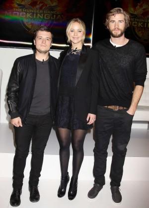 Jennifer Lawrence - The Hunger Games: Mockingjay - Part 1 NY Press Conference -09