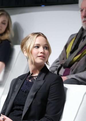 Jennifer Lawrence - The Hunger Games: Mockingjay - Part 1 NY Press Conference -10