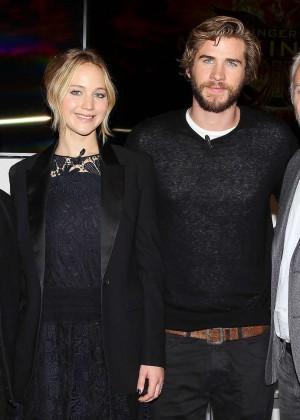 Jennifer Lawrence - The Hunger Games: Mockingjay - Part 1 NY Press Conference -11