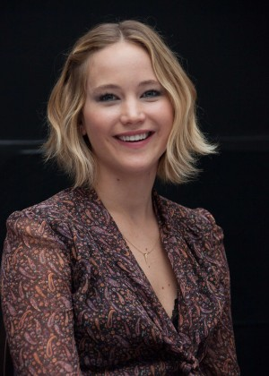 Jennifer Lawrence - The Hunger Games: Mockingjay Part 1 Press Conference Portraits in London
