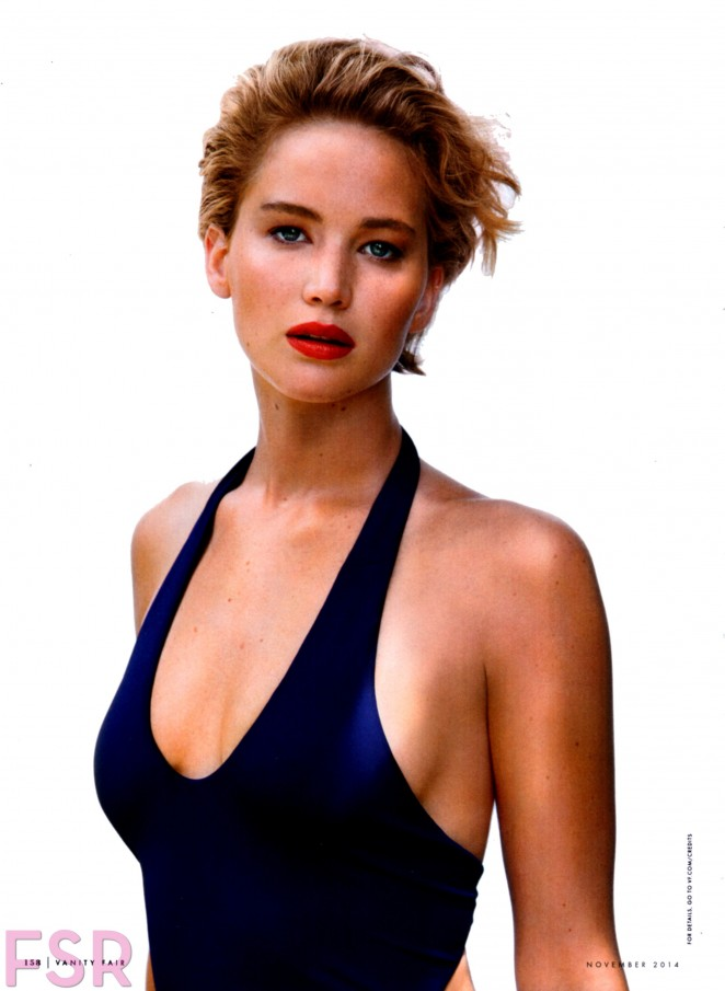 Jennifer Lawrence - Vanity Fair Magazine (November 2014) adds