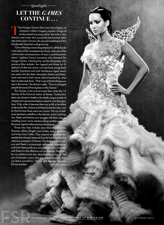 Jennifer Lawrence: Vanity Fair – October 2013 -01