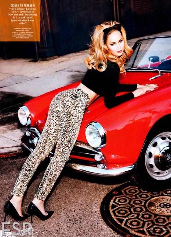 Jennifer Lawrence - Vanity Fair US Magazine (February 2013) issue