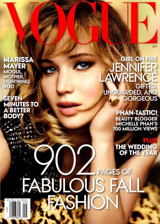 Jennifer Lawrence - Vogue September 2013 Issue -02