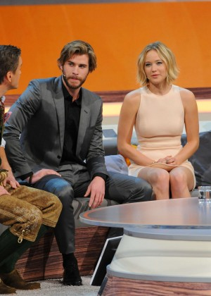 Jennifer Lawrence - Wetten dass TV Show -01
