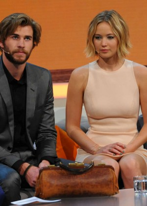 Jennifer Lawrence - Wetten dass TV Show -02