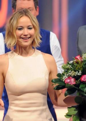 Jennifer Lawrence - Wetten dass TV Show -04
