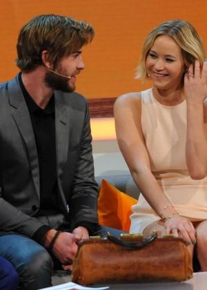 Jennifer Lawrence - Wetten dass TV Show -05