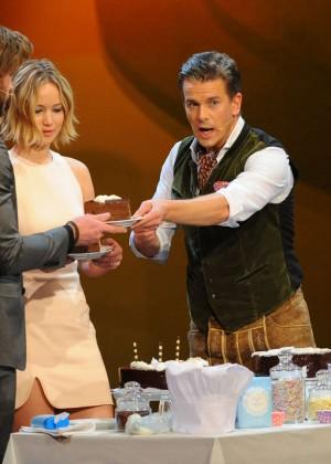 Jennifer Lawrence - Wetten dass TV Show -07