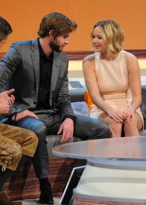 Jennifer Lawrence - Wetten dass TV Show -08