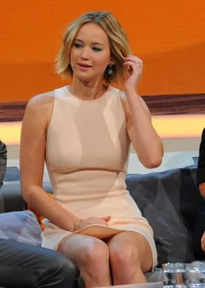 Jennifer Lawrence - Wetten dass TV Show -11