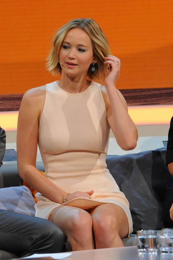 Jennifer Lawrence - Wetten dass TV Show -11 | GotCeleb