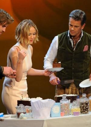 Jennifer Lawrence - Wetten dass TV Show -13