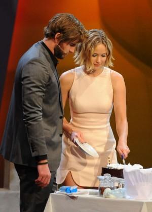 Jennifer Lawrence - Wetten dass TV Show -15