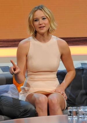 Jennifer Lawrence - Wetten dass TV Show -17