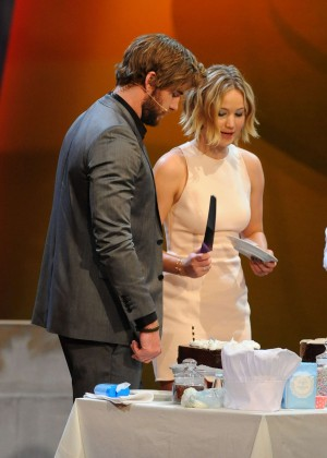 Jennifer Lawrence - Wetten dass TV Show -18