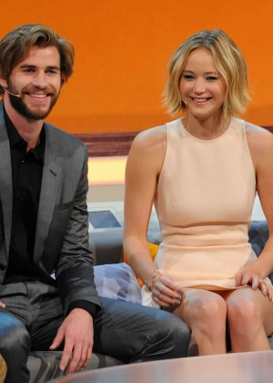 Jennifer Lawrence - Wetten dass TV Show -19