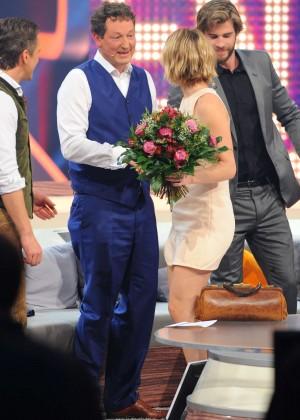 Jennifer Lawrence - Wetten dass TV Show -23