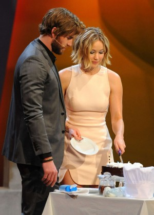 Jennifer Lawrence - Wetten dass TV Show -24