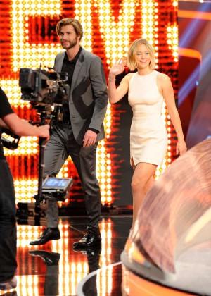 Jennifer Lawrence - Wetten dass TV Show -26